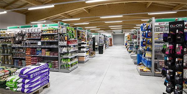 Marktbereich Lagerhaus Waging