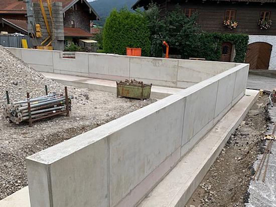 neue Baustoffhalle in Teisendorf