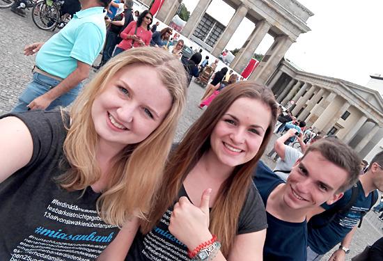 Abschlussfahrt Berlin 2016