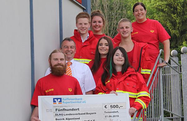Spendenfoto DLRG Teisendorf