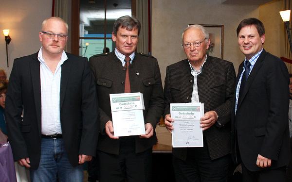 Mitgliederehrung in Neukirchen