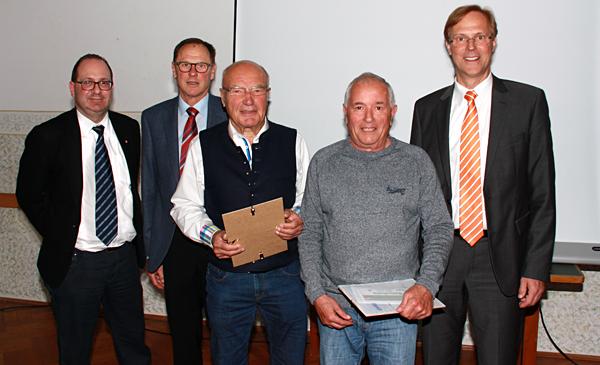Mitgliederehrung in Laufen und Leobendorf