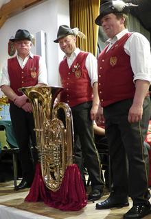 Musikkapelle Teisendorf Bassregister