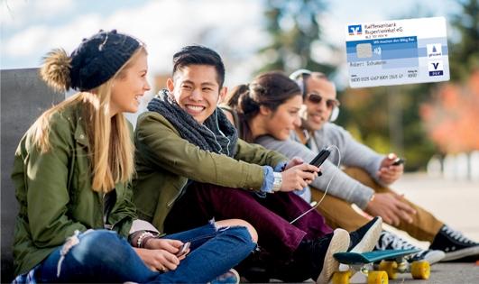 kostenloses Konto für junge Leute