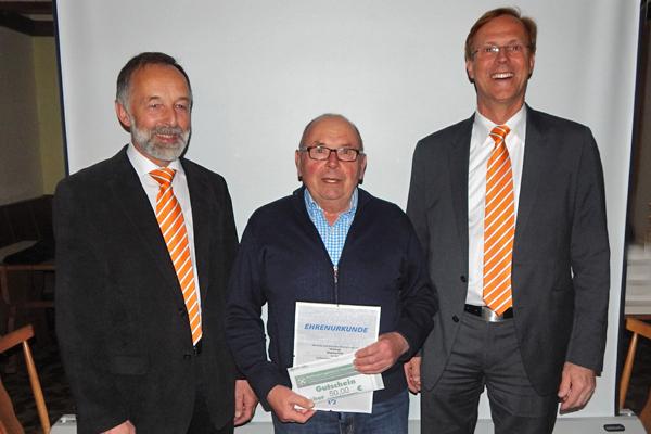 Mitgliederehrung in Weildorf