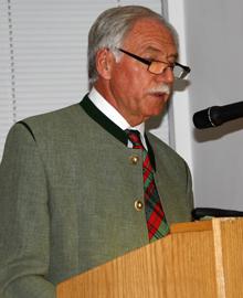 Aufsichtsratsvorsitzender Ludwig Nutz